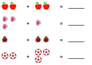 ladybug math free  worksheets for kıds (10)