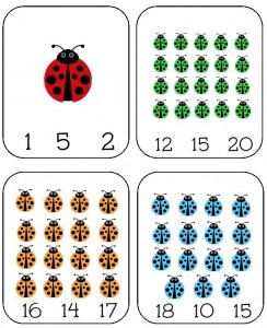 ladybug math free  worksheets for kıds (16)