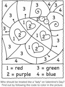 ladybug math free  worksheets for kıds (4)
