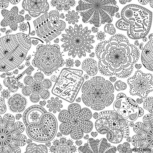 Ladybug Spring Mandala Coloring Pages 3 171 Preschool And