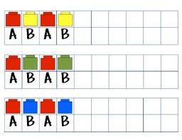 lego pattern card