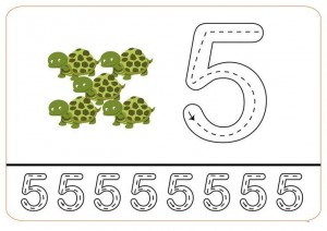 lets count and write printables (7)