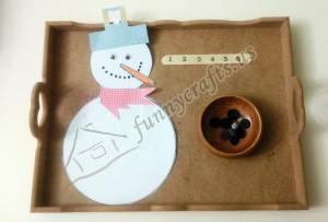 math ıdeas for snow theme