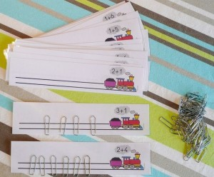 math activities with paper clip (2)