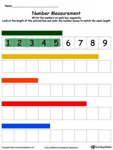 measuring numbers