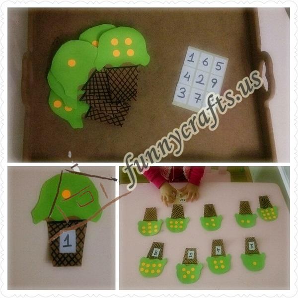 montessori math activities with ıcecream
