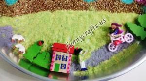 montessori rainbow theme activities