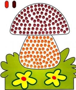mushroom finger painting templates (1)