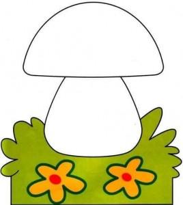 mushroom finger painting templates (2)