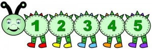 number caterpillar  math activities (2)