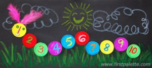number caterpillar  math activities (9)