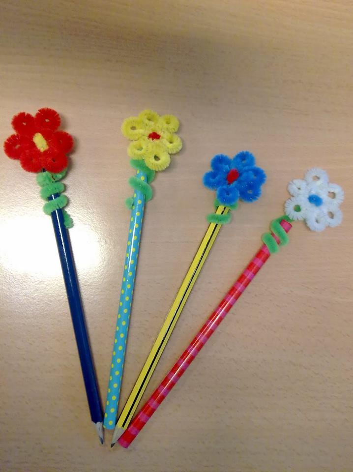 Pencil Topper Crafts 2 on Shapes Activities Preschoolers