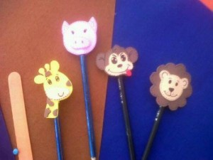 pencil toppers crafts for kids (2)
