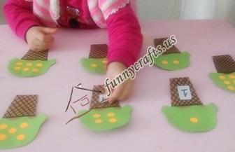 preschool ıcecream counting activities