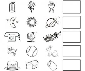 preschool five sense worksheets (3)