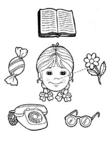 preschool five sense worksheets (5)