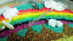 preschool rainbow activities