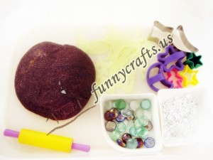 preschool space play dough activities