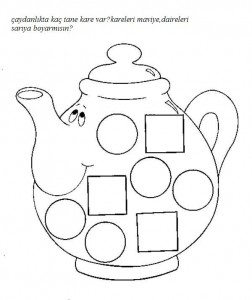 preschool square worksheets trace