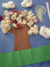 Spring Tree Crafts For Preschoolers Preschool Craft 4