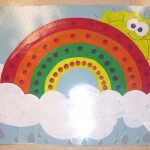 Rainbow bulletin board ideas