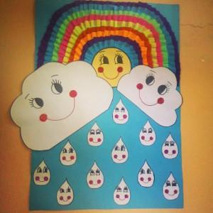 rainbow bulletin board ideas for kıds (34)