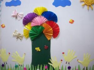 rainbow bulletin board ideas for kıds (36)