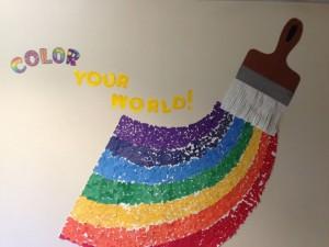 rainbow bulletin board ideas for kıds (5)