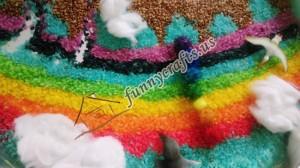 rainbow rice activity bin