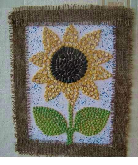 sunflower seed craft