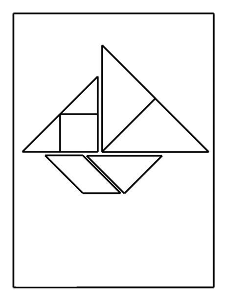 tangram boat  1   u00ab funnycrafts