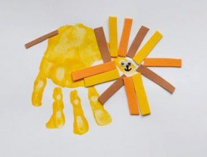 the best footprint crafts for kids to make (5)