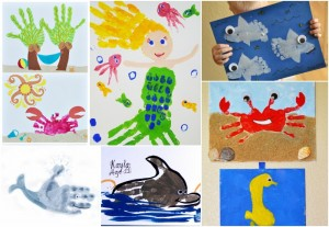 the best handprint and footprint craft ideas for kids (7)