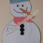 Snowman button counting game