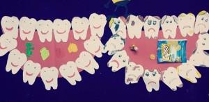 tooth craft idea for children