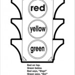 Traffic light worksheets