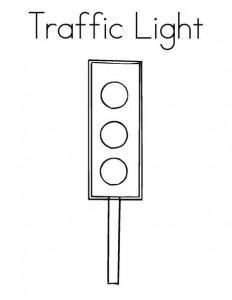traffic light coloring worksheets kıds (3)