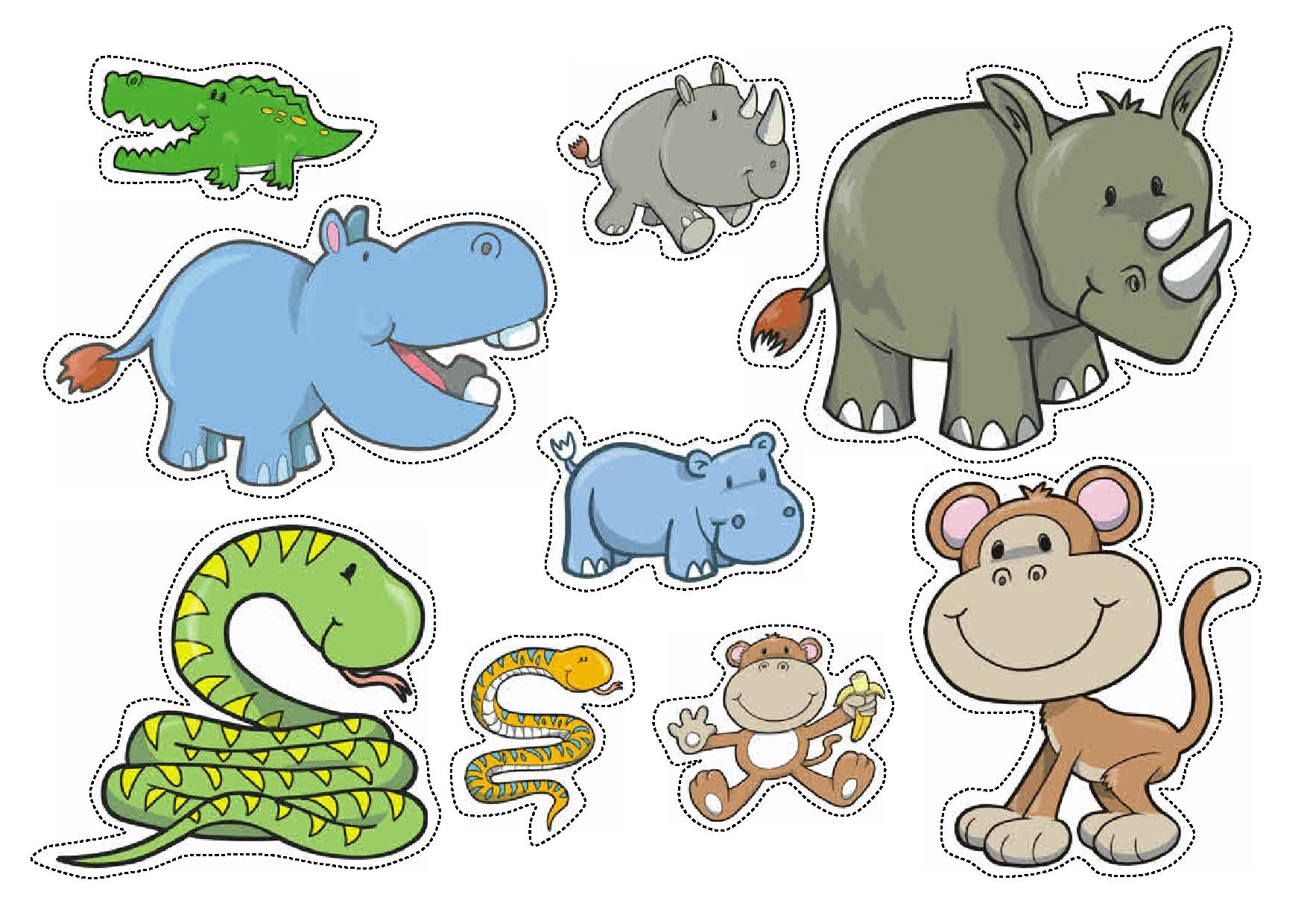 wild animals sorting by size worksheets for preschool ...