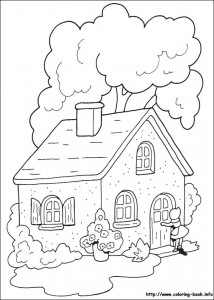 Little red riding hood free coloring pages (10)