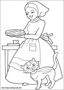 Little red riding hood free coloring pages (5)
