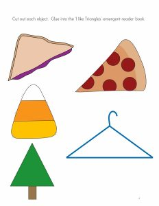 Triangle  cut and paste