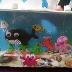 Homemade fish aquarium