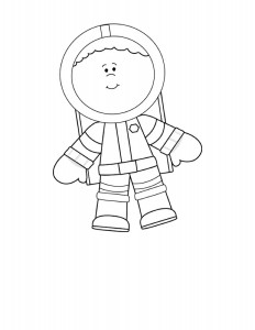 astronaut coloring  pages (1)