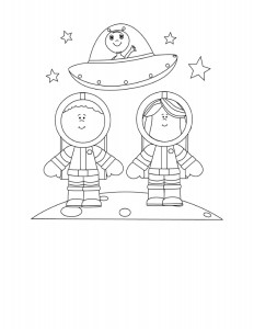 astronaut coloring  pages (4)
