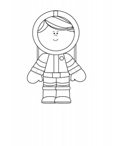 astronaut coloring  pages (7)