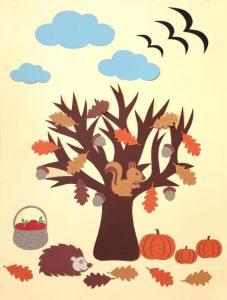 autumn tree crafts