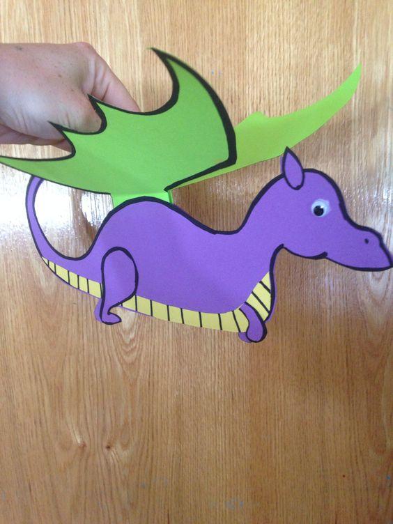 chinese new year dragon crafts 2 Preschool and Homeschool