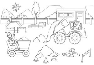 construction coloring pages kids,toddlers (2)