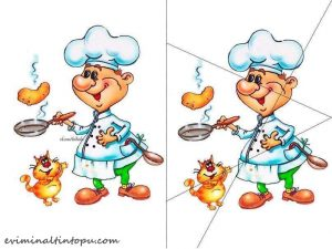 cook puzzle printables