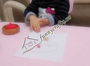 counting and maths skills with play dough (2)